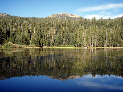 Heart Lake in Lassen National Forest. Photo by USDA Forest Service.