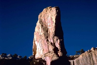 El Morro National Monument Park. Photo by Gary Stolz/USFS/wiki.