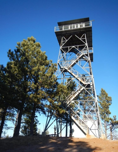 Rankin Ridge Fire Tower. Photo by NPS.