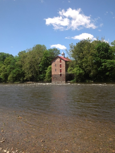 Stover Mill on the Middle Delaware. Photo by John Bumberger.