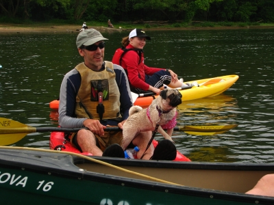 Congaree River Blue Trail dedication and inaugural paddle. Photo by Ron Ahle.