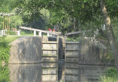 Lock 4. Photo by Stark County Park District.