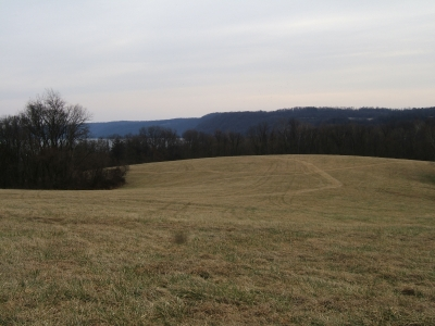 Site of last Susquehannock Indian Village. Photo by Carl M. Smith.