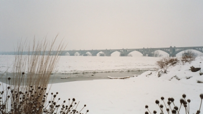 Columbia-Wrightsville Bridge. Photo by Carl M. Smith.