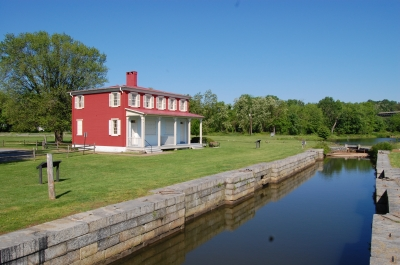 Lock and Lock House at Harve de Grace. Photo by Carl M. Smith.