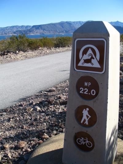 New trail signage. Photo by Tony Taylor.