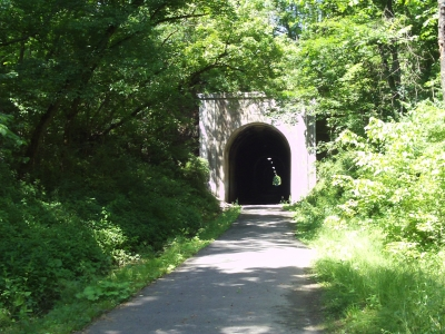Merrideth Tunnel. Photo by Dan Talbott.