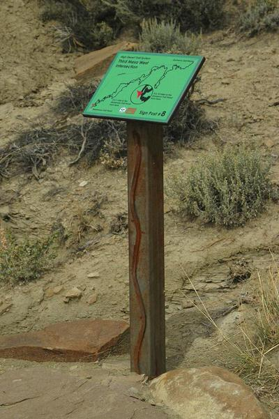Artistic Trail Markers