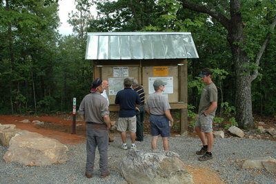 Trailhead Informational Kiosk
