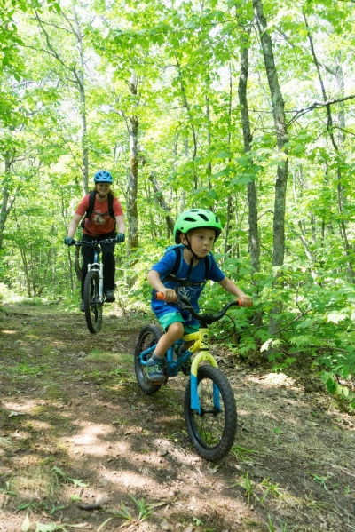 Our trails are open for riders of all ages!