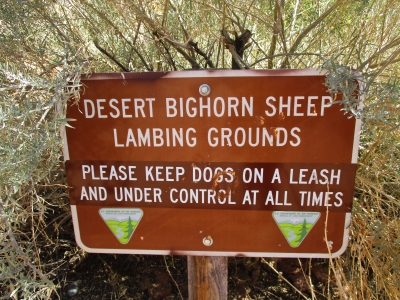 Sign at the trailhead for the Corona Arch Trail. Photo by Valerie A. Russo.