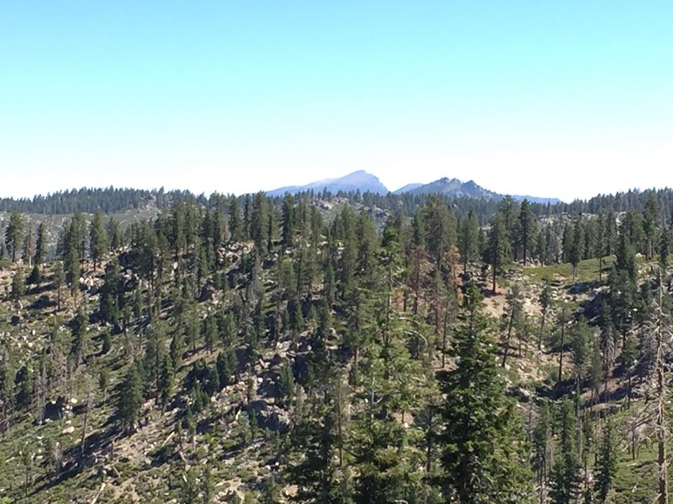 photo: Scenic views. Photo by Troy Meadows, Sequoia NF.