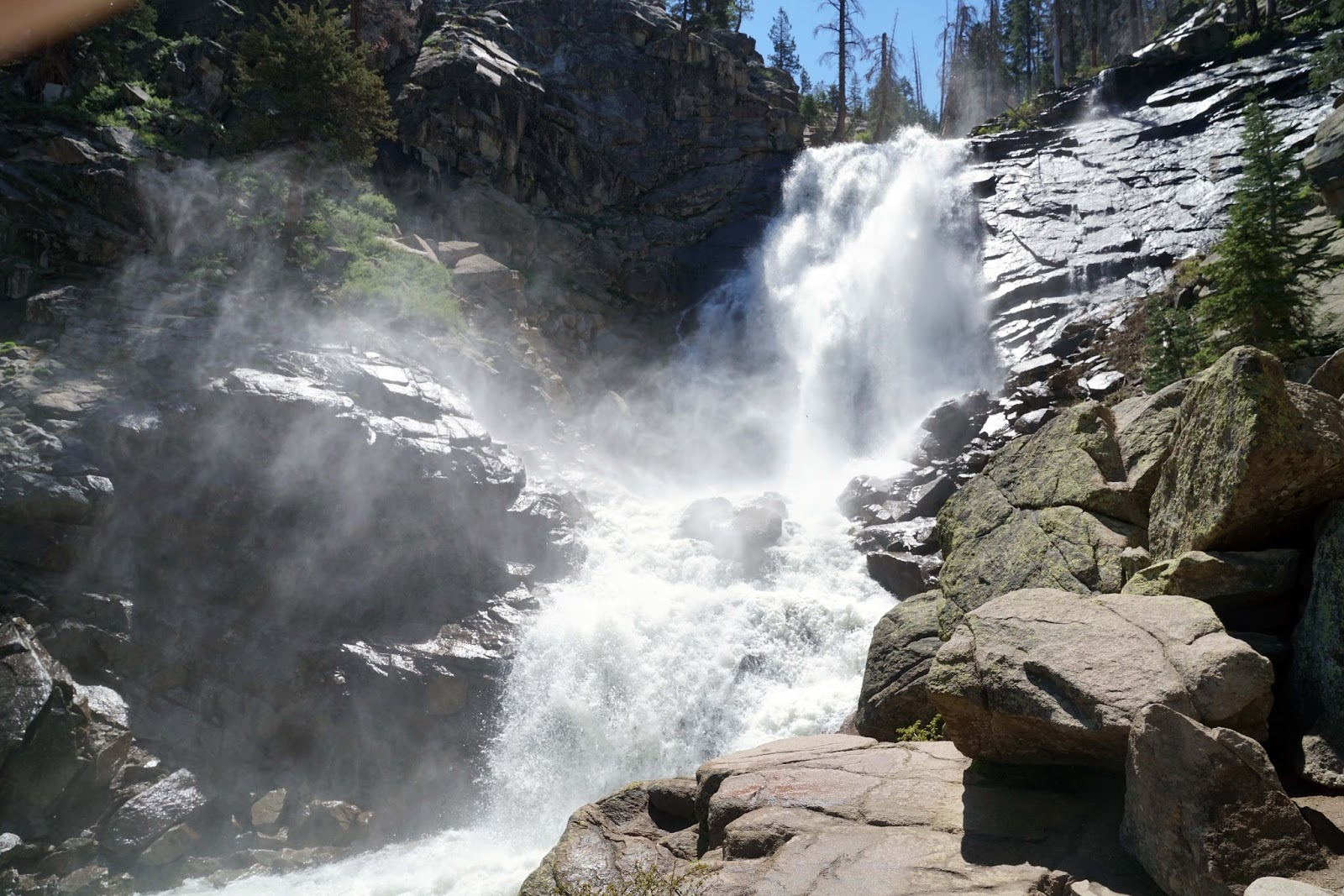photo: Rancheria Falls. Photo by USFS.