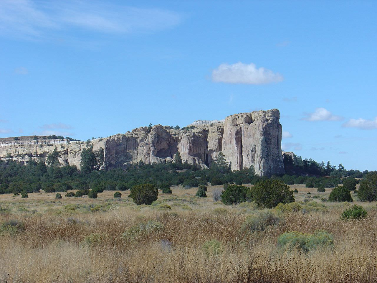 photo: El Morro National Monument Park. Photo by Joel Mills/wiki.