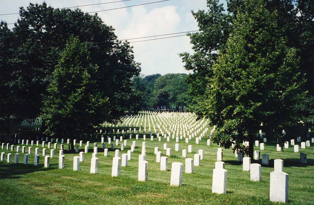 photo: Ft. Leavenworth National Cemetery. Photo by USDVA.