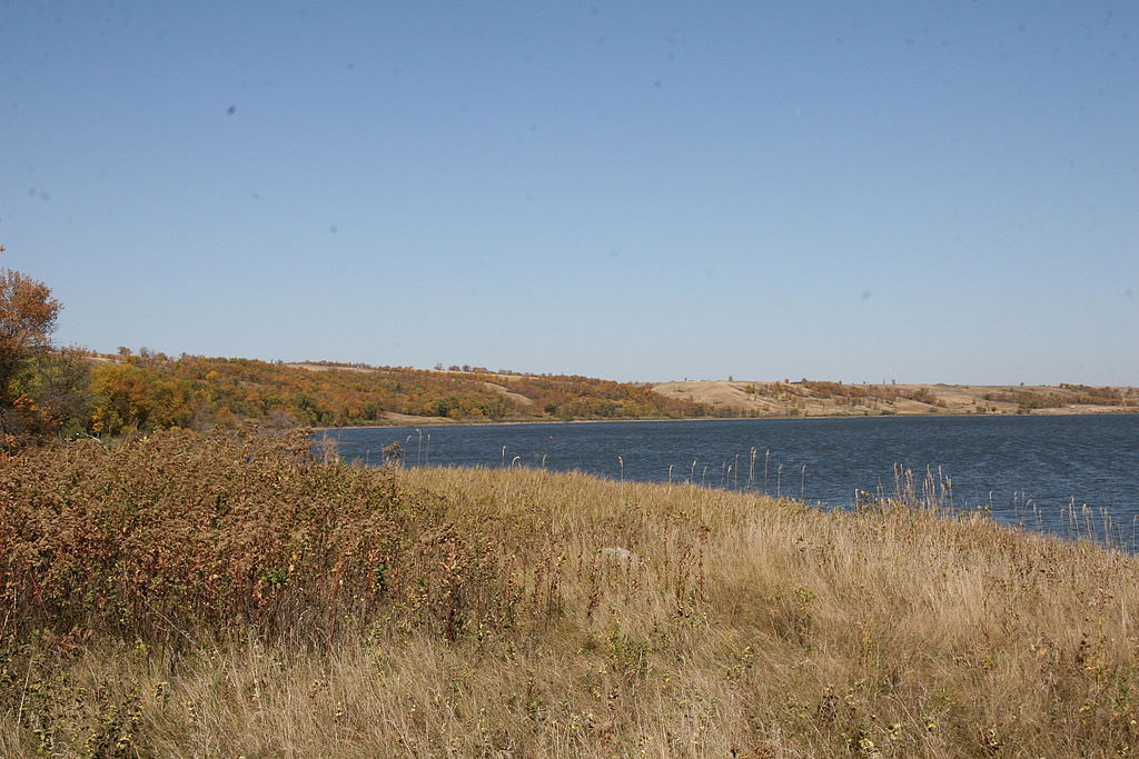 photo: Des Lacs in the Fall. Photo by USFWS Mountain-Prairie wiki.
