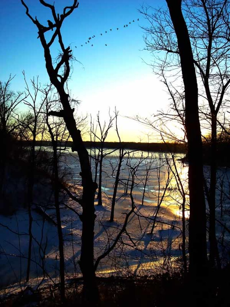 photo: on Smithville Lake 15 miles north of Kansas City, MO; photo by Bryan Smoak