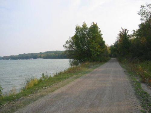 photo: Views of Mullett Lake along the North Central State Trail