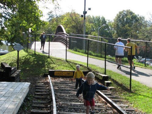 photo: Fun on the Warrenton Branch Greenway