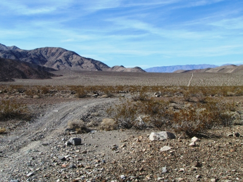 photo: Nadeau Trail in Panamint Valley