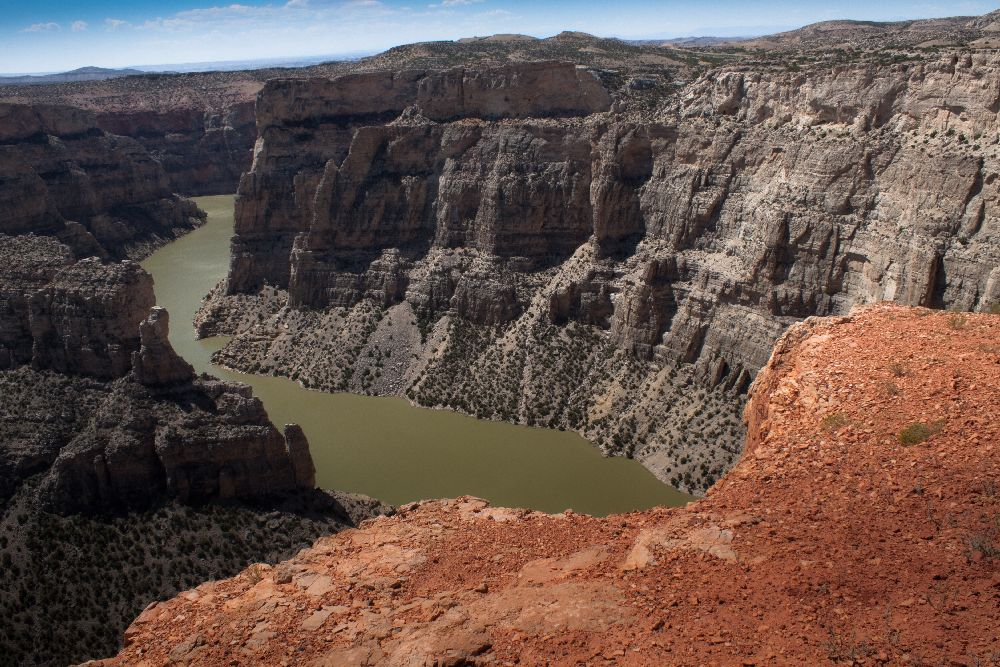 photo: Scenic view of Bighorn Canyon. Photo by Anna Katharina.